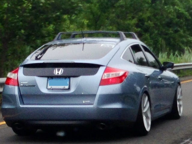 The AWD Accord Wagon we all want. The Stanced Crosstour.