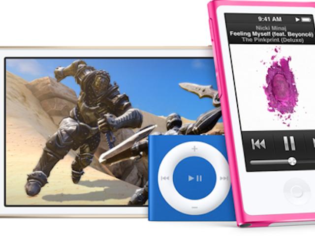 Apple actualiza toda la gama iPod con nuevos colores y modelos