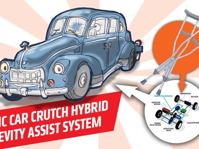 混合动力技术如何帮助保护稀有旧车