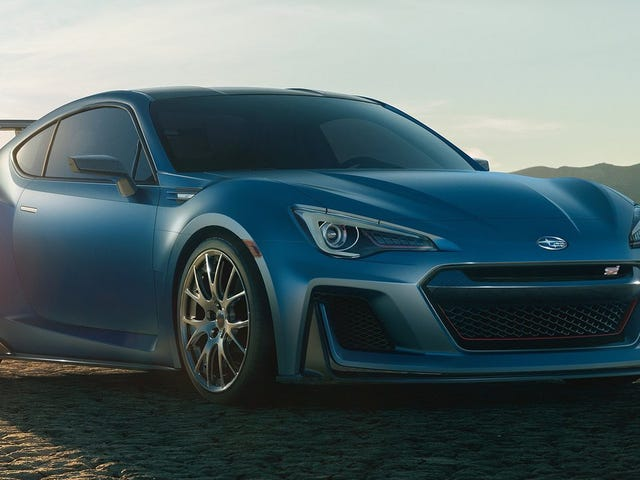 Damn Even Subaru's American Boss Thinks The BRZ Needs 'More Performance'