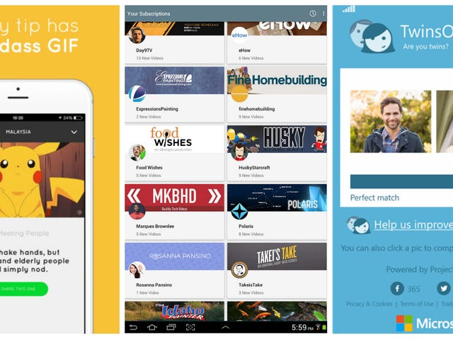 Our Favorite Android, iOS, and Windows Phone Apps of the Week