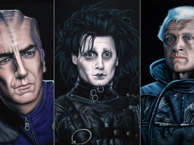 Your Favorite Science Fiction Characters Brought To Life...On Velvet!