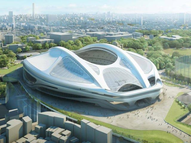 Cancelado el futurista estadio olímpico de Tokio por dispararse su coste