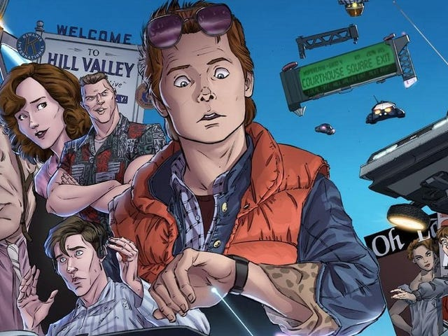 10 Stories We'd Love (And 10 We'd Hate) in the Back To The Future Comic