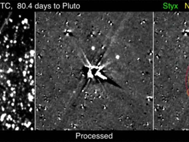 冥王星的月亮尼克斯是最新视野照片中的完美小世界