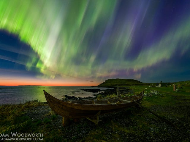 Northern Lights Over Newfoundland Make Me Happy to Be An Earthling