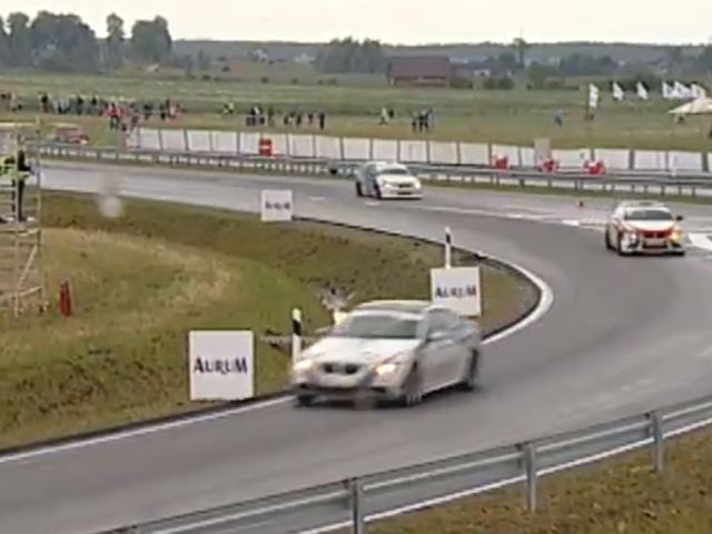 The 1000 Kilometers Of Palanga Is A Crazy Road Course With Freeway Exits
