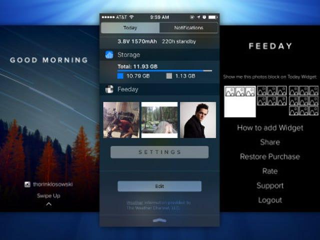 Feeday coloca seu feed do Instagram no centro de notificações do seu iPhone