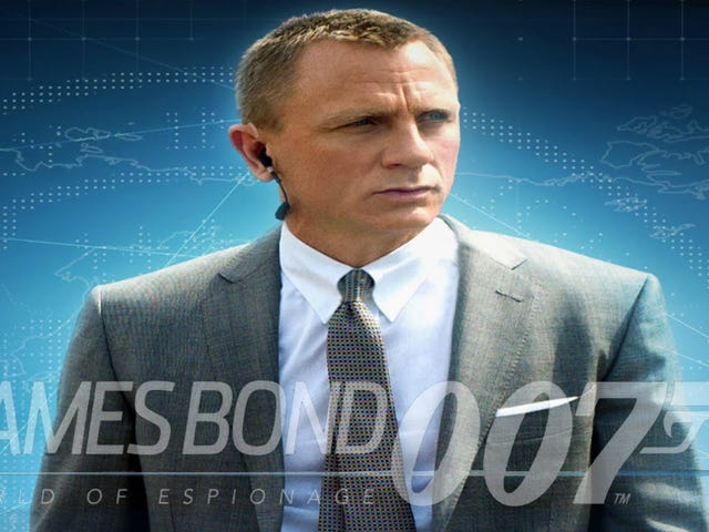 James Bond: World of Espionage (And Apparently Terrible Mobile Games)
