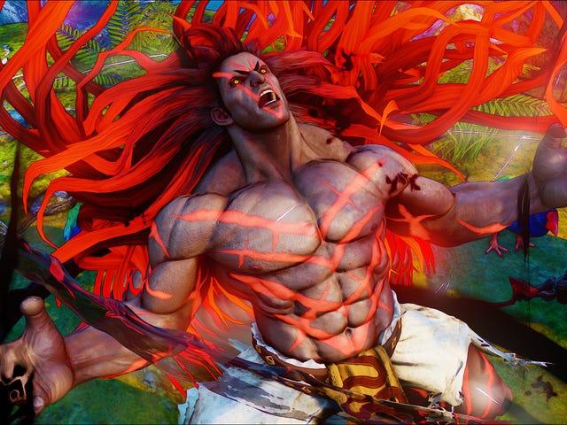 全新的<i>Street Fighter</i>角色在EVO上显示