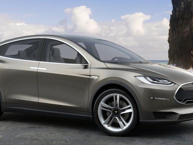 La Tesla Model X passera aussi en mode Ludicrous, peut-être même de 0 à 60 en 3.3