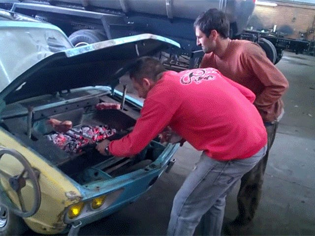 이 Ratty 폭스 바겐 브라질리아는 최고의 CarBQ 일 수 있습니다.