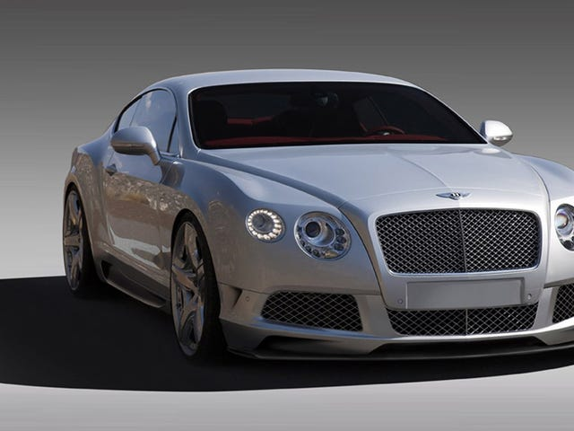 Saw a Bentley Continental GT