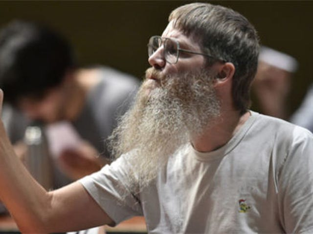 Er hat die French Scrabble Championship gewonnen, obwohl er nicht einmal Französisch spricht