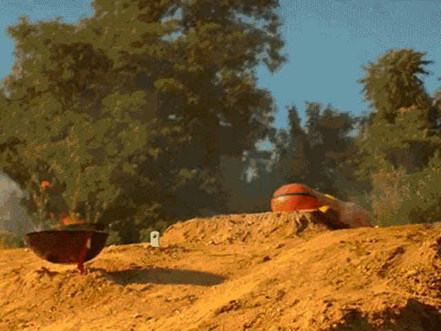 The Oscar Mayer Weinermobile Go Off-Road Dengan RC Weiner Rover