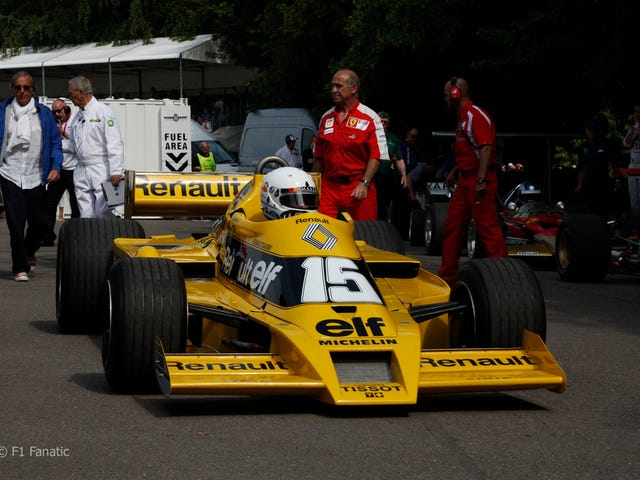 The Historic's Team Conundrum: Renault F1 edition