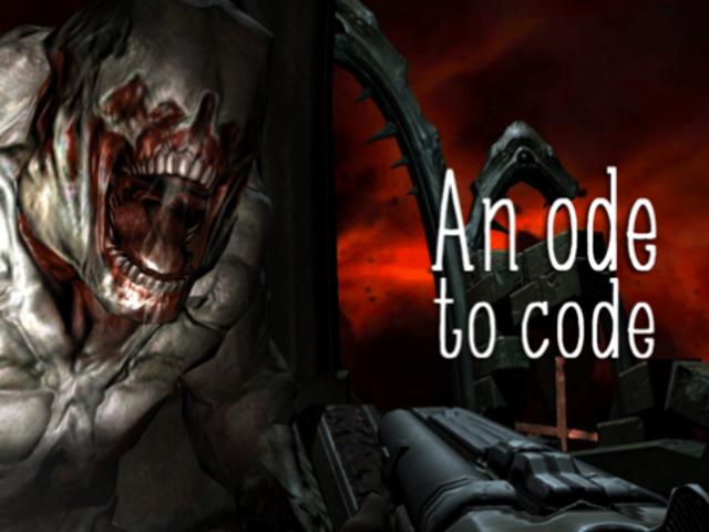 El código fuente de Exceptional Beauty of <em>Doom 3</em>