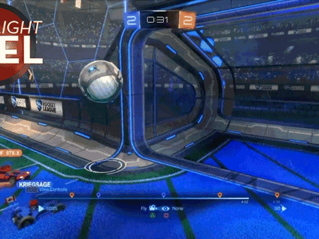 Lưu ly hợp, <i>Rocket League</i> Goalie