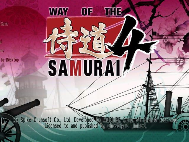 Попередньо порядок самураїв 4 (ПК) на 40%!