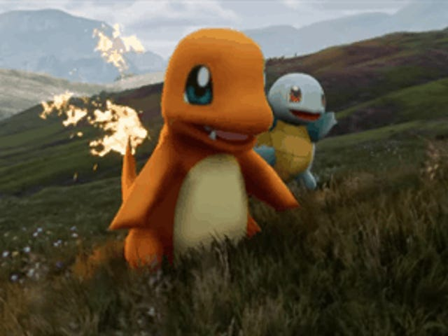 <em>Pokémon</em> In Unreal 4 Looks Fantastic