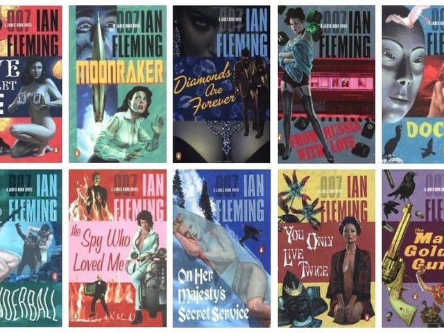 Certains de vos auteurs préférés écrivent des histoires de James Bond!