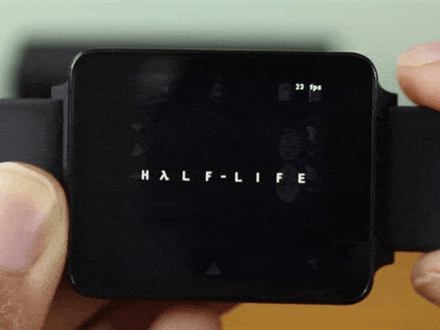 Oh, It's Half-Life, Running On A Watch
