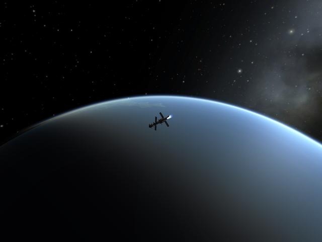 Sometimes, Kerbal Space Program is real pretty...