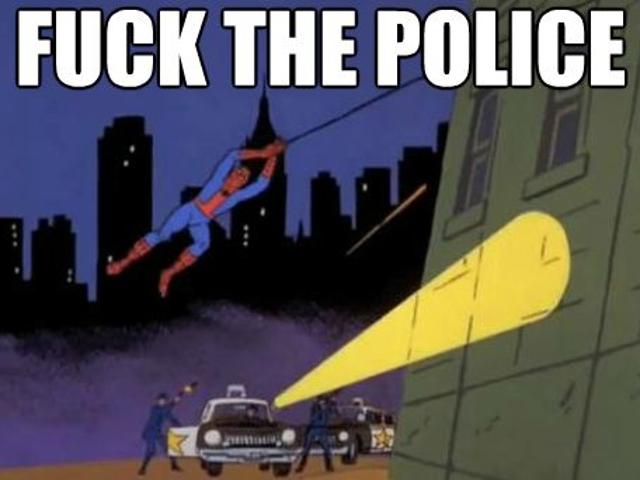 """Pro-Police Bumper Stickers Are Reasonable Suspicion"""