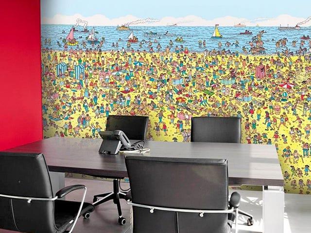 <i>Where's Waldo</i> Wallpaper es la mejor distracción del trabajo