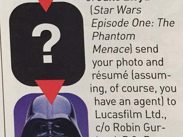 From The Vault - Does George Lucas have game? or Blame SFC Magazine