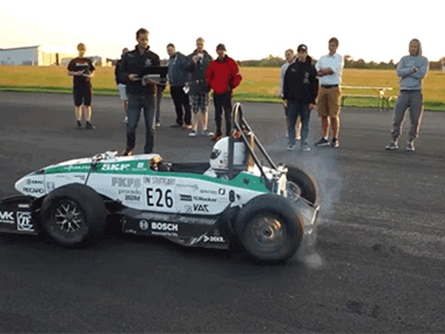 This Electric Formula Car Set A New 0-62MPH Record At 1.779 Seconds