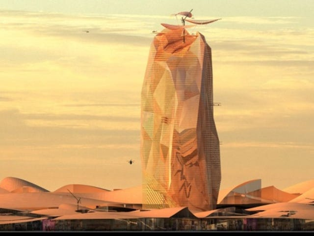 French Design Firms Imagine An Arcology In The Sahara