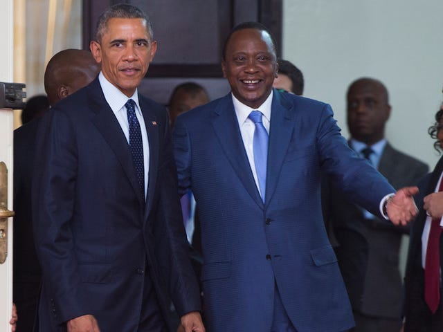 Presiden Kenya Tepat Menutup Panggilan Obama untuk Hak LGBT