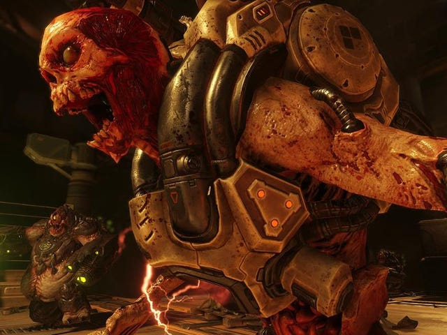 새로운 <i>Doom</i> 낡은 것과 새로운 것, 혼합 된 결과를 결합 함