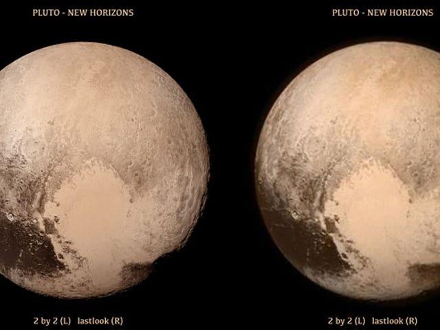 Doktor Brian Mays stereoskopische Bilder von Pluto