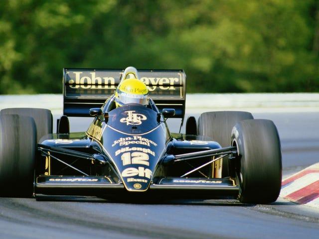Nous allons être sur le salon de l'automobile sans titre demain;  Des questions sur la F1?