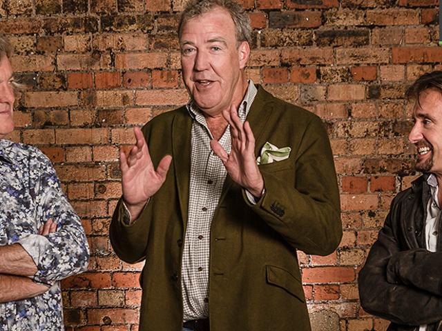 <i>Top Gear's</i> Clarkson <i>Top Gear's</i> , ο Hammond και η May Do Do Show στο Amazon