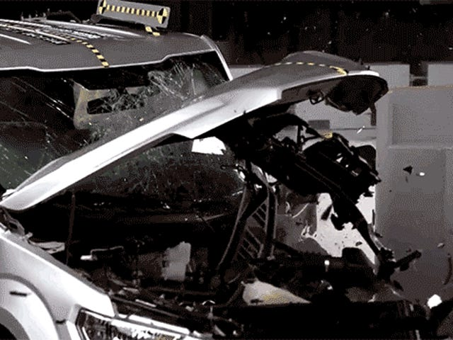 Crash Tests: vuoden 2015 Ford F-150 Crew Cab on turvallisempi kuin Extended Cab