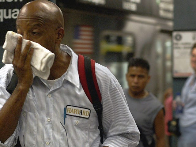 NYC Derecesinde Kaydedilen NYC Metro İstasyonu