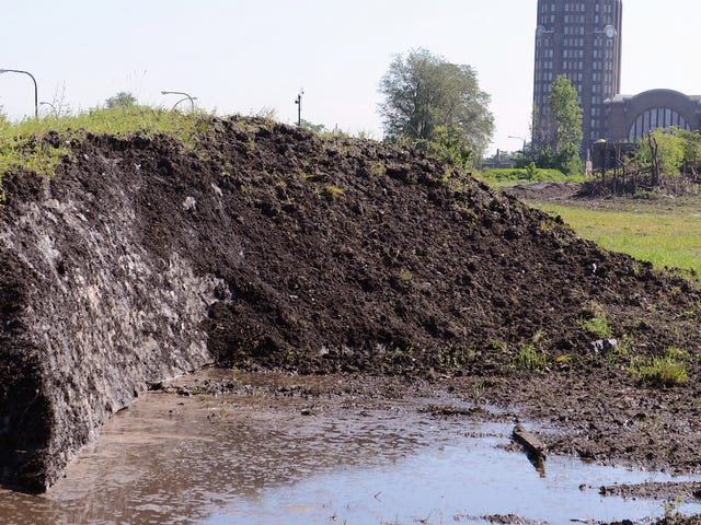 Why Buffalo's Dirty Snow Pile Still Hasn't Melted Yet