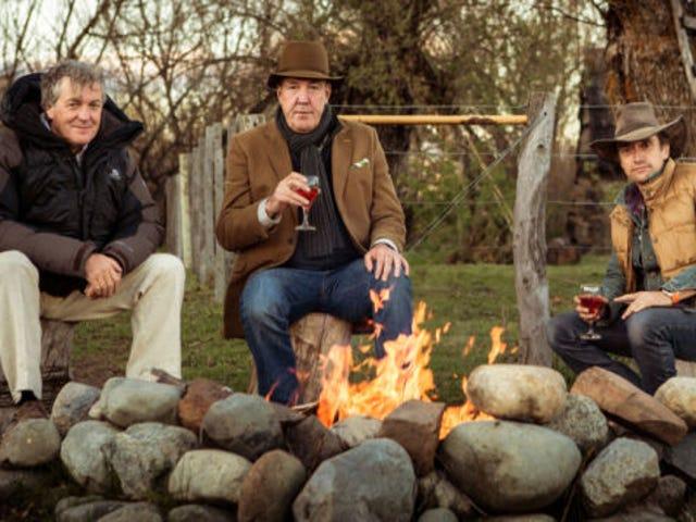 Clarkson, Hammond, và chương trình mới của tháng 5 sắp hết hạn