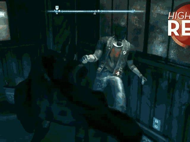 Jesús, Batman, ¿qué le hiciste a este chico?