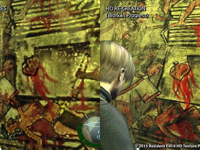 <i>Resident Evil 4</i> Fans créent la carte graphique HD Graphics Negligée