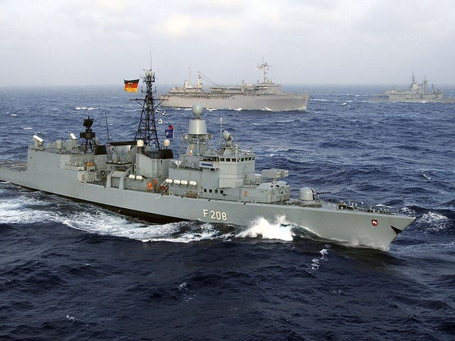 Gardez Oppo Deutsche Marine