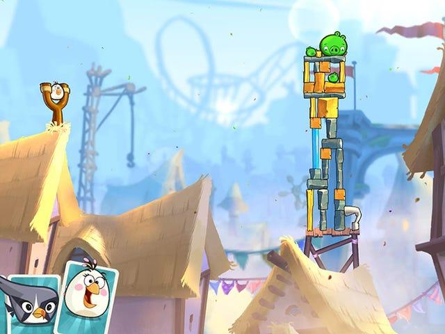 Et eller annet sted under <i>Angry Birds 2</i> &#39;s Nonsense er et solidt spill