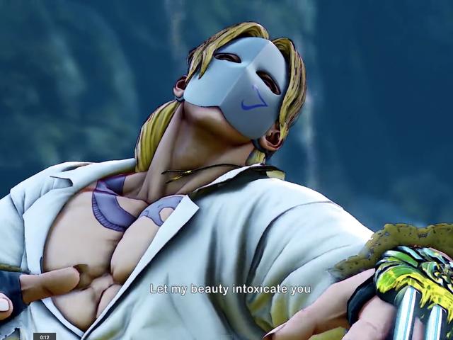 Vega Gets a Shirt in Street Fighter V