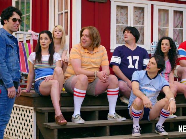 넷플 릭스의 덥고 Wet Hot American Summer Prequel 윌 스릴 팬들, 적어도