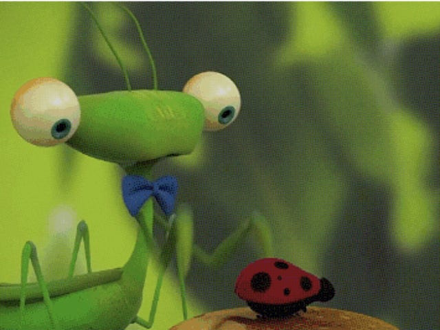 A Praying Mantis Berlaku pada Tarikh Pertama yang Mati - Dan Ia Mungkin Yang Terakhir