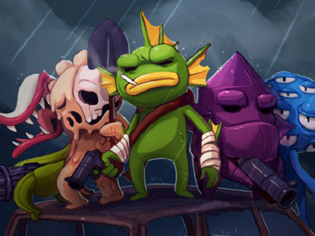 Mírame disparar a mi manera en Nuclear Throne [¡Hecho!]