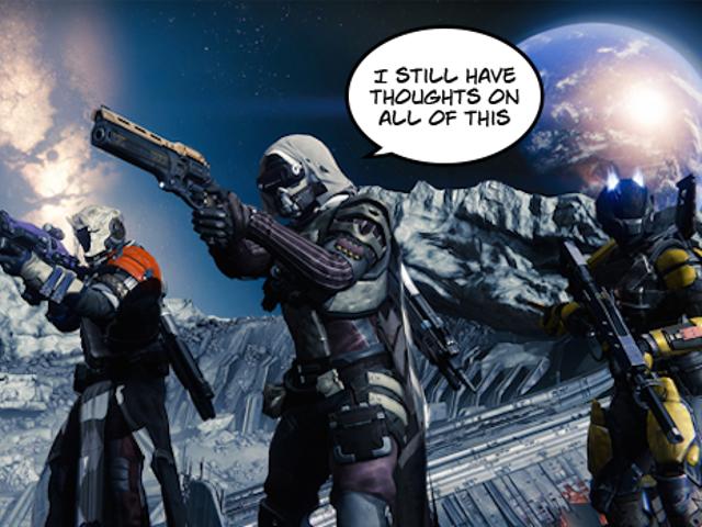 Combien de nos changements de <i>Destiny</i> suggérés se sont-ils réellement produits?